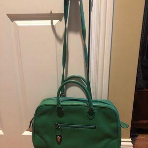 Marc Jacobs green leather handbag new